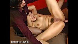 Japanese bondage sex - extreme s&m torment ...