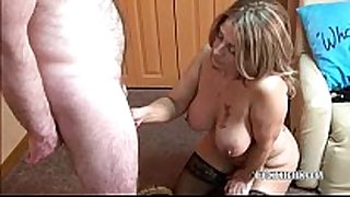 Latina sandie swallows a favourable geeks rigid ding-dong