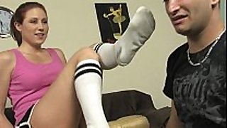 Smelly socks and sneakers worship