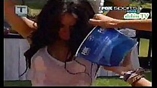 Jimena sanchez playera mojada