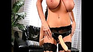 Angelina valentine screwed by a thong on from ke...
