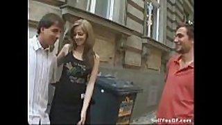 Man prostitutes his hawt girlfriend to a stranger