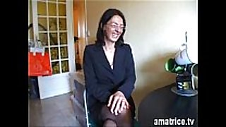 Mature drilled in stockings