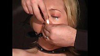 Crying donnas ballgagged humiliation and electr...
