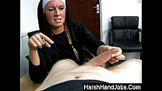 Kristal nyles gives a harsh cook jerking