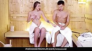 Relaxxxed - sensual booty fucking at the sauna wi...