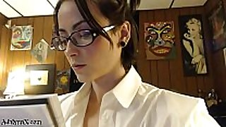 Adalynnx - messy fisty school white babes 2