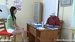 Узбечка у гинеколога пробует все дырки uzbek at...