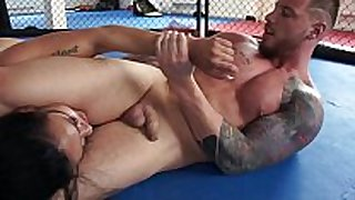 Nude battle of the sexes - woman in peril! mila...