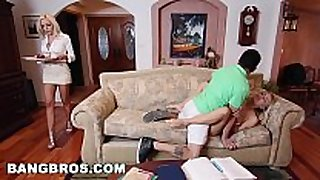 Bangbros - stepmom milf nina elle has threesome...