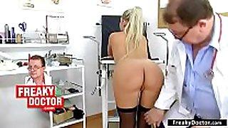 Gyno-chair exam of small lalin non-professional Married bitch ferrara gomez