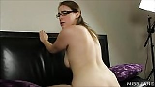 Doggystyle sex tool riding large ass
