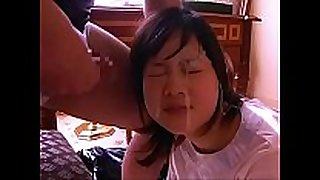 Asian legal age teenagers getting facial compilation - part i...