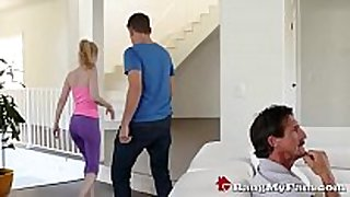 Hot & sexually sexually sexually lascivious stepmom kennedy kressler seduces this chab...