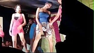 Telugu in nature's garb hawt dance(lanjelu) high